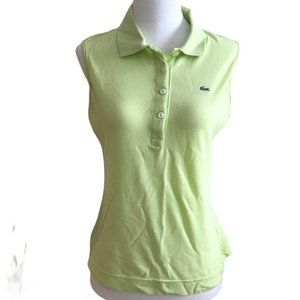 Lacoste Mint Green Polo Top